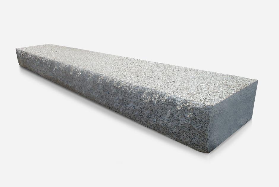 Bujardado em Cima / Escacilhado Lados