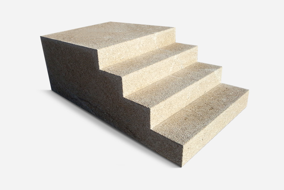 Escalier Granite Jaune